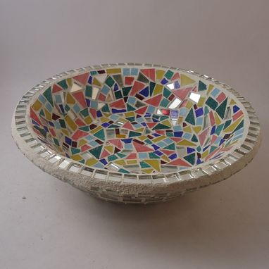 Custom Made Decorative Mosaic Fruit Bowl
