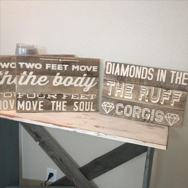 Custom Made 16x11 Multi-Board Barn Wood Sign