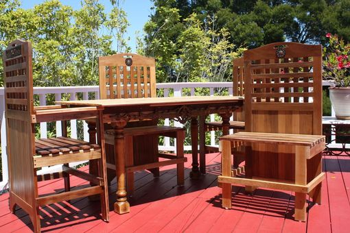 Custom Made Patio Set