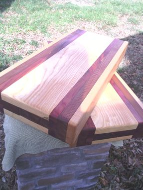 Custom Made Solid Wooden Chopping Block