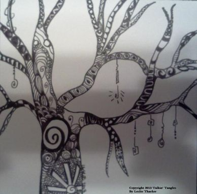 Custom Made Tangled Tree 4
