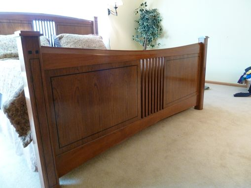 Custom Made Cherry King-Size Bed