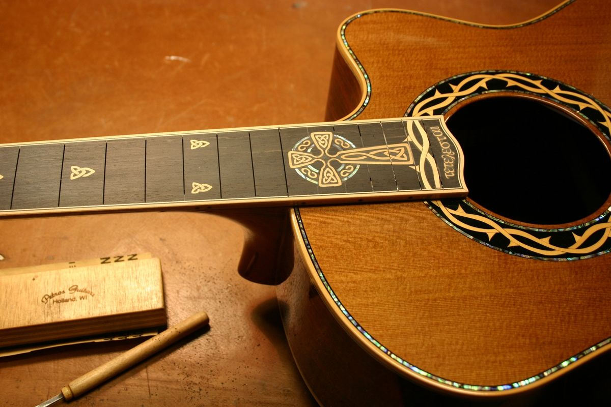Handmade The Crown Of Thorns By Petros Guitars
