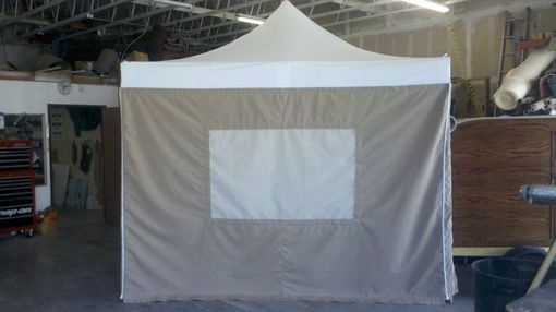 Custom Made Pop Up Canopy Sidewalls