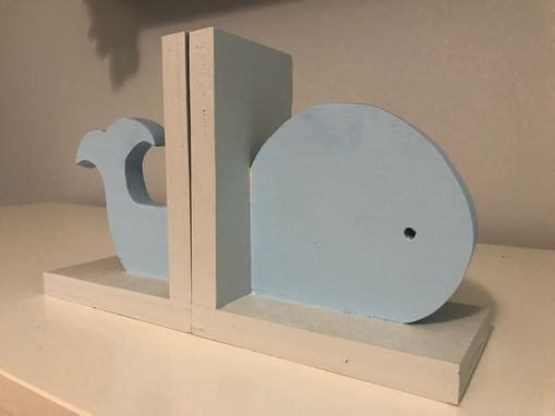 Custom Made Whale Bookends