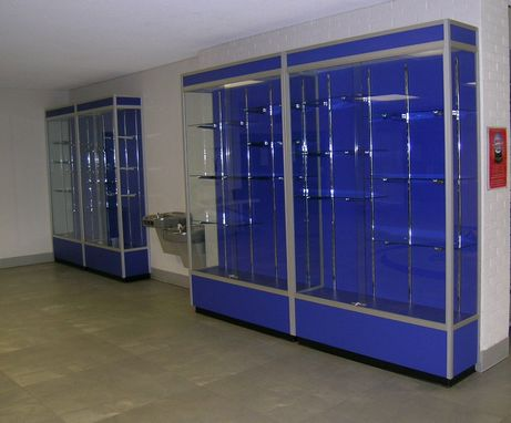 Custom Made Trophy Cabinets