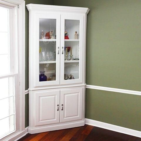 Custom Made Corner Cabinet By Jmadson Custom Woodworking