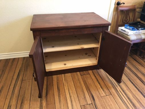 Custom Made Rustic Desk For Two