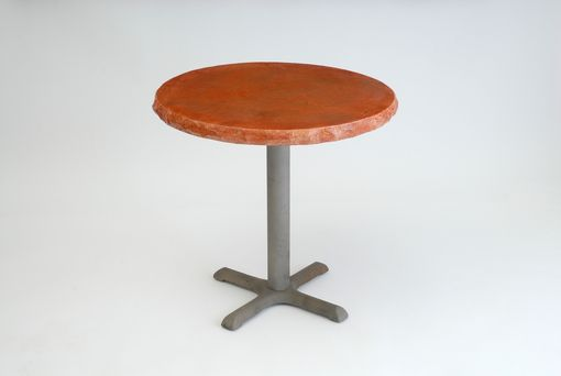 "Custom Made ""Rock"" Top Cafe Tables"