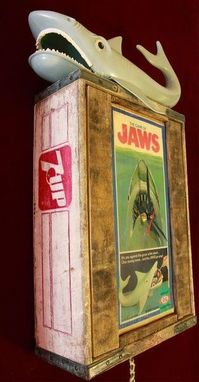 Custom Made Jaws Vintage Game Clock