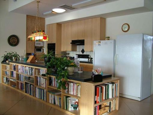 Custom Made Under Counter Kitchen Bookcases