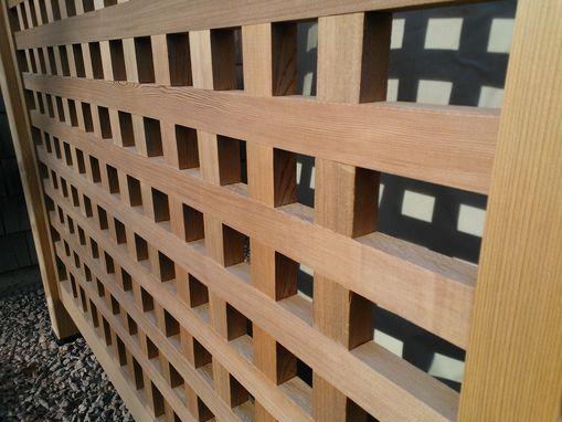 Custom Made Red Cedar Screen Panels