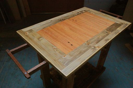 Custom Made Kitchen Island Table With Leaves