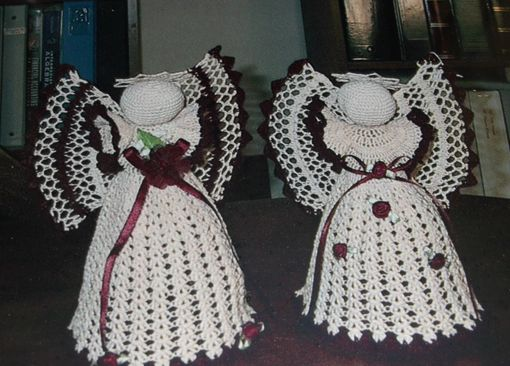 Custom Made 8 Inch Crocheted Angels