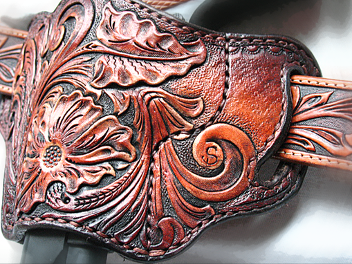 Buy A Hand Crafted Tooled Leather Pancake 1911 Holster