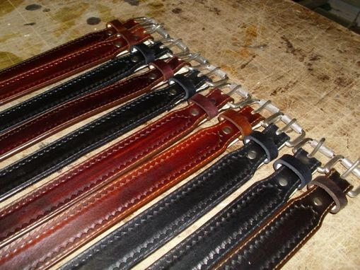 Custom Made Dress Belts