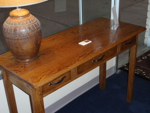 Custom Made Southwestern Writing Desk