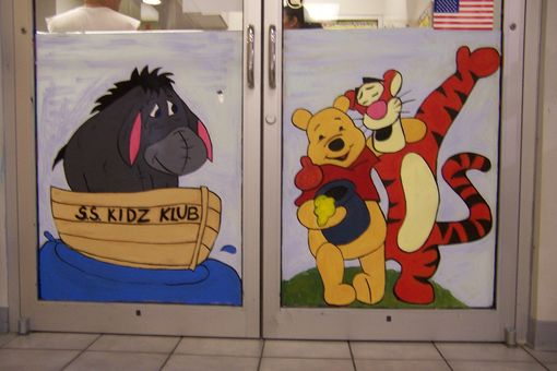 Custom Made Window Paintings