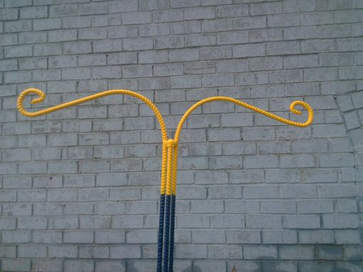 Custom Made Large 2 Hook Plant/Bird Feader Hanger