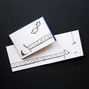 Custom Made Cats & Dogs Stationery Set