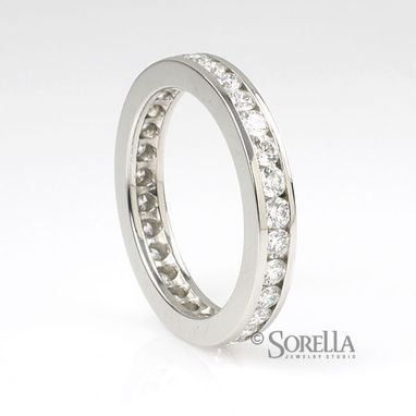 Custom Made Platinum Diamond Eternity Band