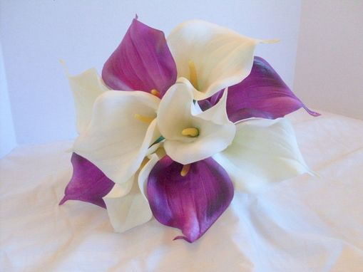 Custom Made Calla Lily Bridal Bouquet