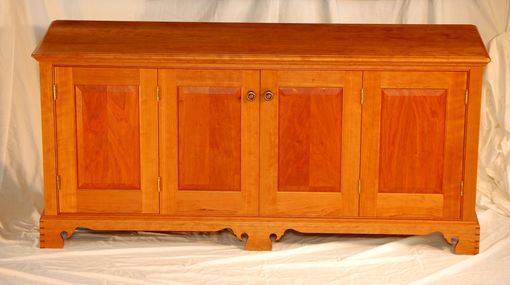 Custom Made Traditional Style Media Cabinet / Tv Console