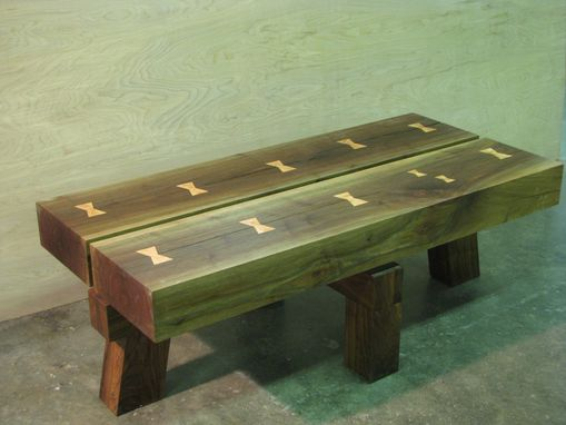 Custom Made Floating Top Bench