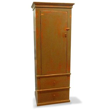 Custom Made Colonial Linen Cabinet