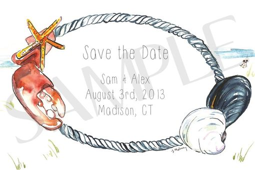 Custom Made Custom Save The Date