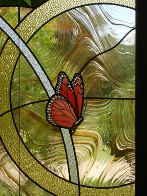 Custom Made Temple Sharrie Shalom Stained Glass Memorial Garden Windows Of Rememberance