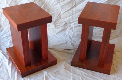 Custom Made Paduck Speaker Stands