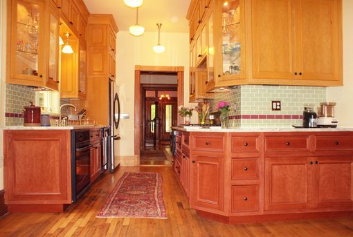 Custom Made Custom Cherry Kitchen Cabinetry