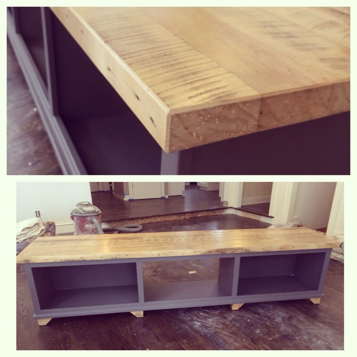 Custom reclaimed beechwood tv stand by ross alan reclaimed - Made com meuble tv ...