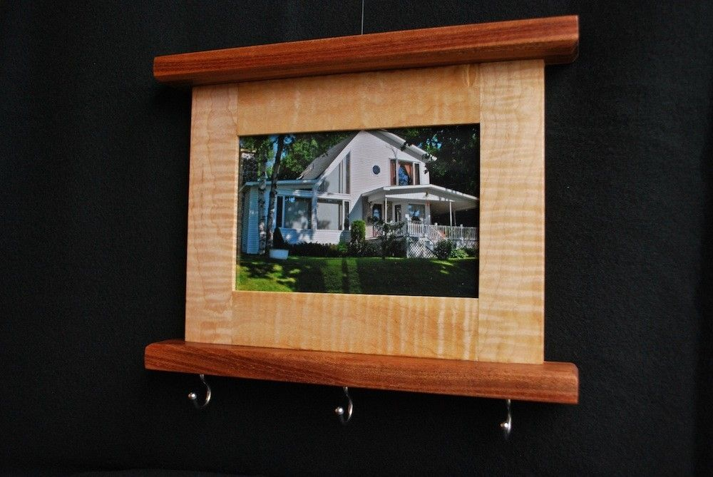 Custom Picture Frame Key Holder by Clark Wood Creations | CustomMade.com