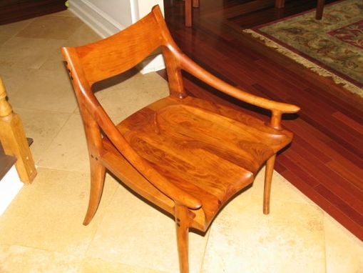 Custom Made Maloof Inspired Low Back Chair
