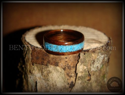 Custom Made E. Indian Rosewood With Turquoise Inlay