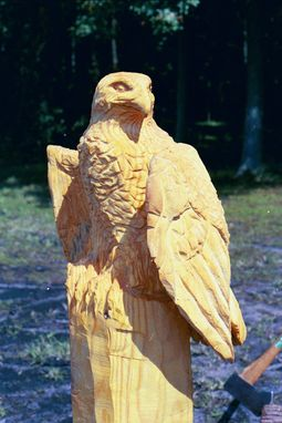 Custom Made Chainsaw Carvings - Birds