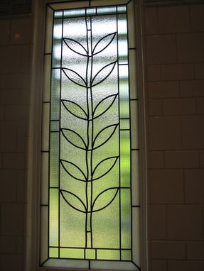 Custom Made Stained Glass Window Charlotte Nc