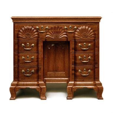 Custom Made Newport Kneehole Bureau