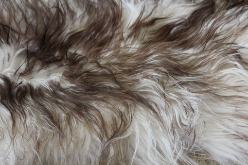 Custom Made Genuine Icelandic Sheepskin Rug Throw – Shade Of Brown