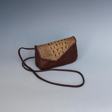 Custom Made Mindy, Brown Leather Purse