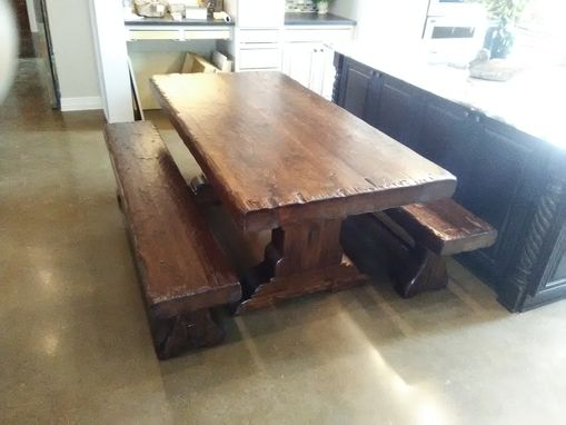 Custom Made #0432 Rustic Cedar Dining Table