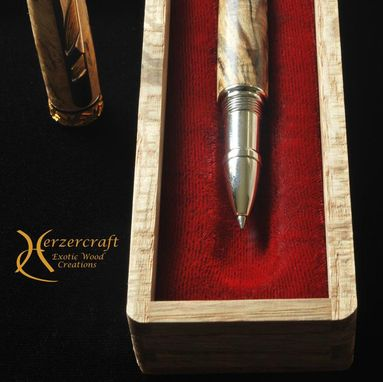 Custom Made Imperial Rollerball Pen Spalted Maple
