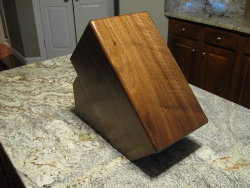 Custom Made Custom Knife Block