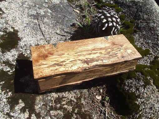 Custom Made Spalted Oak Jewelry/Trinket Box