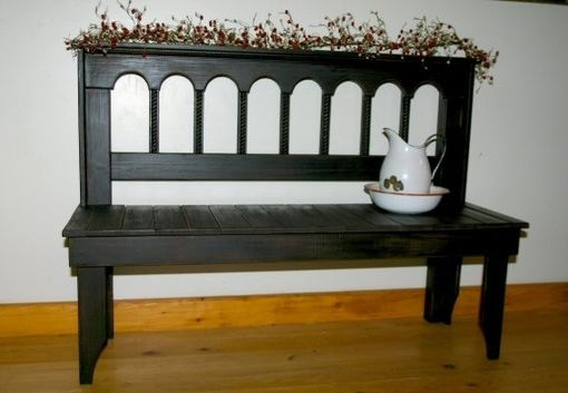 Custom Made Tuscan Bench