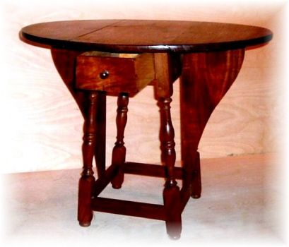 Custom Made Butterfly Tavern Table