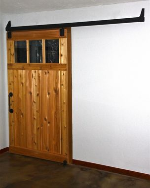 Custom Made Custom Cedar Sliding Barn Doors