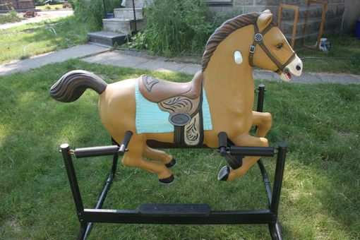 Custom Made Restoration Of Vintage Toy Horse